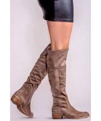 Σουέντ Γυναικείες μπότες με δωρεάν αποστολή  6dd52747487