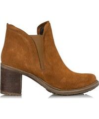 9b29998c3ad Δερμάτινα Μποτάκια Envie Shoes, Ταμπά Χρώμα Κωδ. E02-08952-52