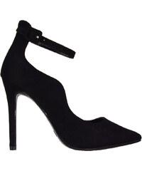 3233d758b1 ILoveMyShoes J011 Γυναικείες Γόβες Μπαρέτα Suede Μαύρο J011 mavro