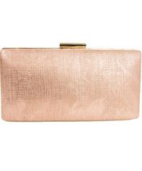 Huxley   Grace Γυναικείος ροζ μεταλλιζέ φάκελος Hardcase Clutch JK07G 6665b6ebc6c