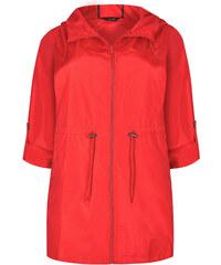 Κόκκινα Γυναικεία μπουφάν και παλτά σε μεγάλα μεγέθη  79eb4c9d8ff