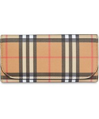 98c1d7dc93 Burberry vintage-check continental wallet - Yellow