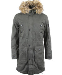 92ca858a1a53 Be-casual Ανδρικό Μπουφάν Parka Rock Olive Green Small
