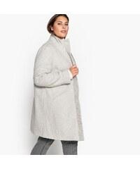 The Fashion Project Παλτό μεσάτο με λοξό κούμπωμα - Γκρι ... 7518917dafe