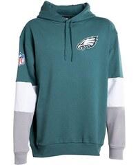 bc6efd833014 outletshop New Era NFL PHILADELPHIA EAGLES πράσινη ανδρική φούτερ μπλούζα  με τρίχρωμα μανίκια και λευκό -