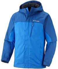 Αδιάβροχο αντιανεμικό ανδρικό μπουφάν Columbia Pouring Adventure Jacket  Hyper Blue Μπλε Columbia 3266f64ef60