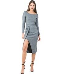 DeCoro F11497 Φόρεμα Glitter - ΓΚΡΙ - 10 9e13dbf0a4b