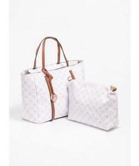 The Fashion Project Τσάντα χειρός με pattern - Λευκό - 06388001001 a71bbc03697