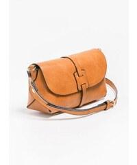 The Fashion Project Mini χιαστί τσαντάκι με καπάκι - Μουσταρδί - 06393056056 cff18bdea88