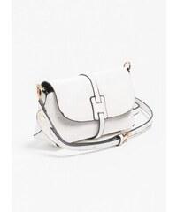 The Fashion Project Mini χιαστί τσαντάκι με καπάκι - Λευκό - 06393001001 665f83f24a6