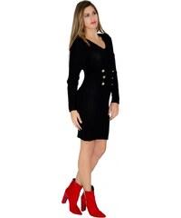 Miss Pinky Φόρεμα midi πλεκτό φάκελος - ΚΥΠΑΡΙΣΣΙ 107-1400 - Glami.gr 360674a0d5f