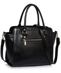 0dc4a8ff5c LS Bags 1527 LS Grab tote γυναικεία τσάντα ώμου χειρός LS00255B - Μαύρη
