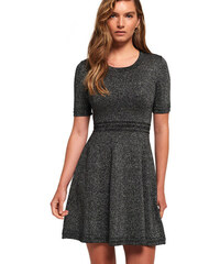 4d22f5aa47dd Superdry RILEY FIT AND FLARE KNITTED DRESS ΦΟΡΕΜΑ (G80002PR WA2)
