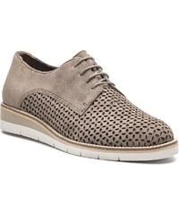 dec1c22573a Γυναικεία Δερμάτινα Oxford Παπούτσια Marcel Ostertag x Tamaris ...