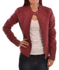 ONLY Saga Faux Leather Jacket BORDEAU (15156494.C) 0e6de1f2105