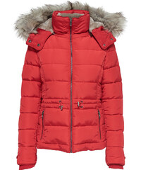 ONLY Vigga Short Quilted Nylon Jacket RED (15159389.GB) a656c04c876
