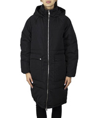 ONLY Gabi Oversized Long Nylon Coat BLACK (15160167) 2168b045a28