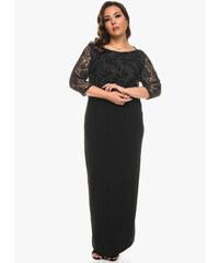 Μάξι Φόρεμα με Μεταλλική Δαντέλα 4ca814aa854