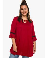 63e3f2f826b maniags Μπλούζα Κόκκινη Animal Print - Glami.gr