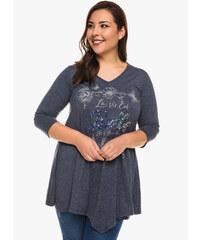 Γκρι Γυναικείες μπλούζες και πουκάμισα σε έκπτωση  9934c2c9361