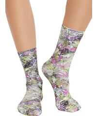 Free People Stole the show printed sock green combo 58106693d43