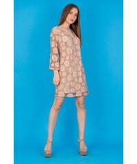 BIBIBO Γυναικείο φόρεμα με άνοιγμα και κορδέλα στην πλάτη ΜΠΕΖ 62c5bae75db