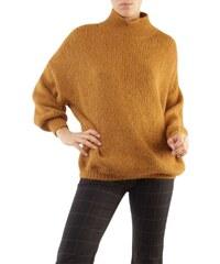 3c3fbf5c932f The Fashion Project Μακρύ πλεκτό με ζιβάγκο - Κάμελ - 06226008001 ...