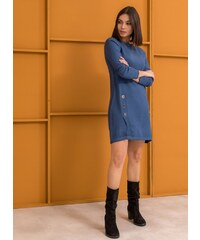 The Fashion Project Μακρύ πλεκτό με μεταλλικούς κρίκους - Ραφ - 06333069013 5bd97ac25bd