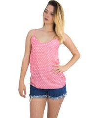 0547158bd2ee ... αμάνικη μπλούζα Lurex πλισε 80269S. Μέγεθος μόνο One size. Λεπτομέρειες  · Huxley   Grace Γυναικείο πουά μπλουζάκι ραντάκι Coocu ροζ 36555F
