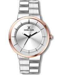 Ρολόι Daniel Klein Exclusive πολλαπλών ενδείξεων με καφέ λουράκι ... 88da070f9fb