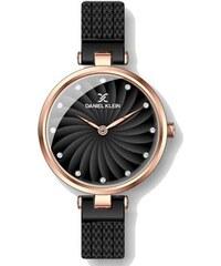 Ρολόι Daniel Klein με μαύρο μπρασελέ και καντράν DK11904-5 1d9d7edbe9e