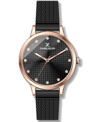 Ρολόι Daniel Klein με μαύρο μπρασελέ και καντράν DK11856-4 f1e8294ef9a