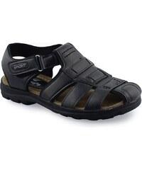 InShoes Ανδρικά πέδιλα ημίκλειστα Μαύρο 6f2e181f1da
