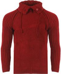 38c50a297c26 Be-casual Ανδρική Πλεκτή Μπλούζα Carpet Bordeaux-M