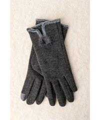 Potre Γυναικεία γάντια με πομ πον aa2bbb69460