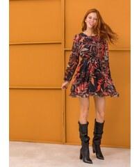 The Fashion Project Φόρεμα με see through μανίκια - Multi - 001 45f3aa7d683
