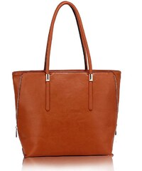 37f4d1d686 Anna Grace 1535 AG Γυναικεία tote τσάντα ώμου AG00494 - Καφέ