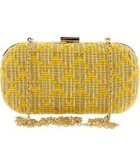 ed7b945467 Βραδινό τσαντάκι clutch Modissimo 19911-Κίτρινο 19911-Κίτρινο