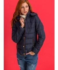 The Fashion Project Ελαφρύ μπουφάν με suede λεπτομέρειες - Μπλε σκούρο -  06561023004 25ed83b95e3
