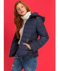 The Fashion Project Λεπτό μεσάτο καπιτονέ μπουφάν - Μπλε σκούρο -  06563023004 2519c1d76b7