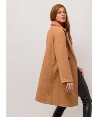 The Fashion Project Παλτό από συνθετικό μαλλί προβάτου - Κάμελ - 05625008001 28ef58d29b8