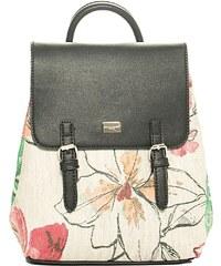 Luigi Σακίδιο Πλάτης Floral - Μαύρο - 001 d704f814aa5