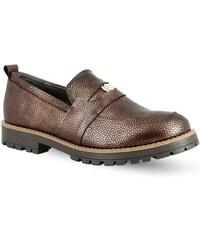 d6fc78f25b7 Γυναικεία Slip On Παπούτσια Parex - Μπρονζέ