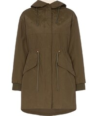 434723e77b See By Chloé hooded zip up parka - Green