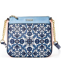 Τσάντα γυναικεία Ωμου Verde 16-4927-Μπλε 16-4927-Μπλε - Glami.gr 6829a113ee4