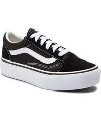 b6157ffea3c Πάνινα παπούτσια VANS - Old Skool Platfor VN0A3TL36BT1 Black/True White