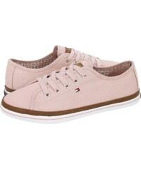 Tommy Hilfiger Metallic Sneaker 093-0093900 Ροζ Χρυσό - Glami.gr 71e8632d8ae