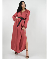 5f1c79b79a68 Stylegr Φόρεμα μακρύ σάπιο μήλο