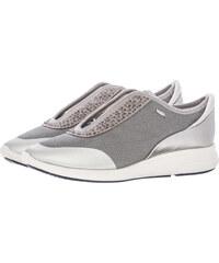Geox Γυναικεία Παπούτσια Casual D621CE Ασημί Ύφασμα 62068f3406f
