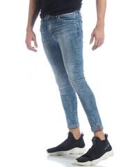 c7dd51e2be Bruno Leoni Ανδρικό γαλάζιο τζιν Skinny Washed Jeans